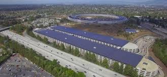 park siege social l évolution de la construction de l apple park avec ces images de drones