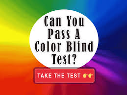 Can A Woman Be Color Blind Are You Colorblind
