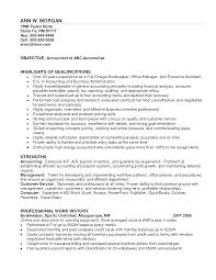 Sample Resume Objectives Accounting by Resume Bookkeeping Resume Samples