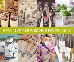 summer wedding favors 8 summer wedding favor ideas crazyforus