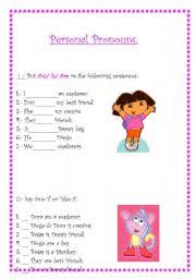 personal pronouns worksheet by pamela valdivia