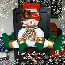 Snowman Chair Covers Mr Snowman Chair Covers Set Of 2 Chair Covers Snowman And Navidad