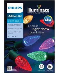 deal on philips illuminate c9 lights 25ct add on