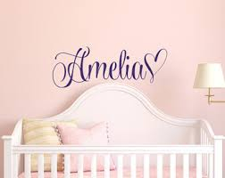 Wall Decals For Girls Bedroom Wall Decals Etsy