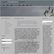 grey css just grey template free website templates in css html js format
