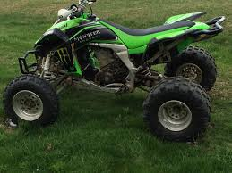 kawasaki kfx 450r sport quad for the love of dirt