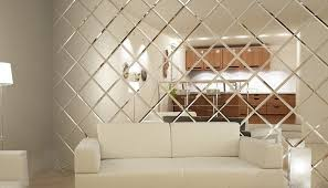 mirror tiles for bathroom walls mirror tiles for walls new picturesque design ideas wall with