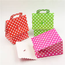 polka dot gift boxes 100pcs lot baby shower gifts boxes hot pink candy box birthday