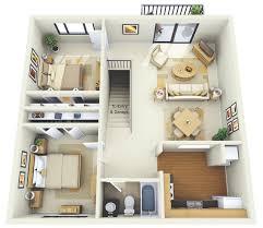 floor plans for small houses with 2 bedrooms plantas de casas com 2 quartos com cozinha americana 3d 6 aptos