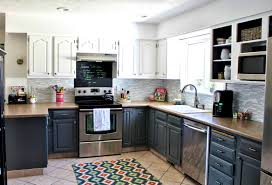 White Kitchen Cabinets With Dark Countertops Bathroom Awesome Grey Kitchen Cabinets Kitchens And Dark
