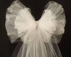 wedding pew bows wedding pew bows etsy