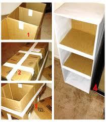 cara membuat lemari buku dari kardus bekas 8 cara membuat lemari minimalis untuk anak kost mamikos