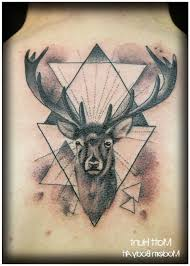 stunning deer tattoo on shoulder photo 2 2017 real photo
