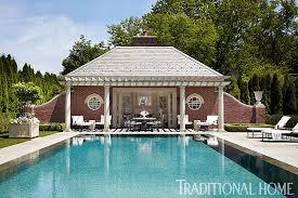 playful michigan pool house traditional home