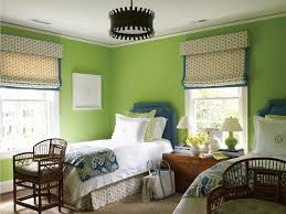 Blue And Green Bedroom Apple Green Paint Design Ideas