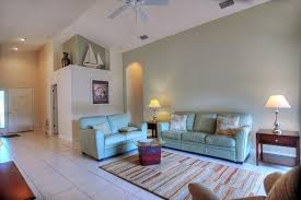 living room vaulted ceiling paint color powder staircase beach