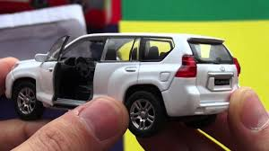 lego toyota camry toyota land cruiser prado 150 welly toys youtube
