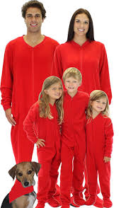 the best footie pajamas for the family