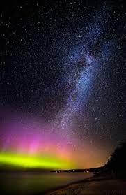 Northern Lights Missouri Photography Summer Landscape Night Galaxy Stars Northern Lights
