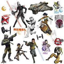 star wars rebels glow in the dark wall stickers stickers for star wars rebels glow in the dark wall stickers