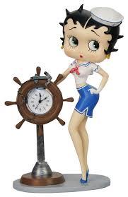 betty boop home decor betty boop sailor clock figurine betty boop pinterest betty boop