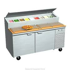 Refrigerated Prep Table by Larosa 2067 Ptb Refrigerated Counter Pizza Prep Table Width 51