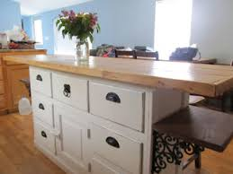 kitchen island buffet vintage built in buffet turned into cool rustic farmhouse island