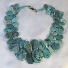 big chunky necklace images Chunky turquoise bib necklace statement turquoise necklace big jpg