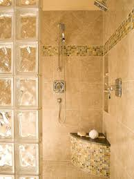glass block bathroom ideas photos of glass block showers bench in shower with