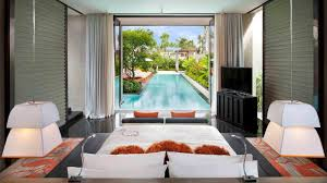 Pool Houses With Bars W Bali Seminyak Luxury Hotel In Bali