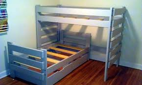 Bunk Beds L Shaped Furniture Midsouthbunkbed Bunk Storage Breathtaking L