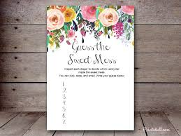 baby shower guessing game template home decoration