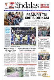 epaper andalas edisi senin 13 februari 2017 by media andalas issuu