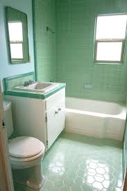 Retro Bathroom Furniture by Green Floor Tiles Bathroom Bjyoho Com