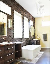 elegant wood tile wall designs in bathrooms everitt u0026 schilling