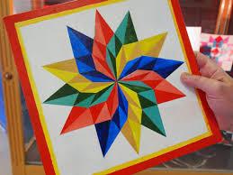 rural art teaches kids how to do geometry wmra and wemc