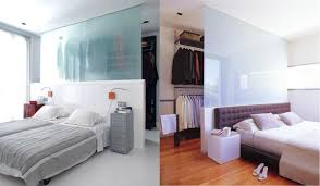 illustrationsjust interior ideas just design partial walls and smoky panes white glass independent these beds from the open wardrobes powering them resolution that supplies much more visible