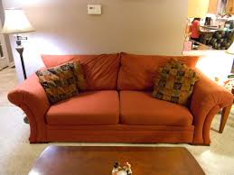 unique couch covers with sweet orange fit slipcovers design for