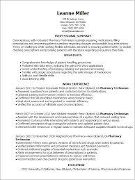 It Resume Skills Pharmacy Technician Resume Skills Resume Templates