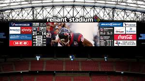 Houston Texans Stadium by Reliant Stadium Video Board Upgrades On Track Houston Chronicle
