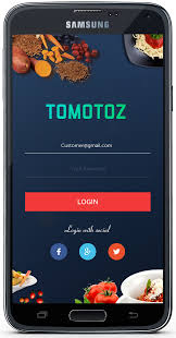 behance login food app login screen on behance