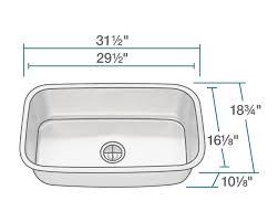 stainless steel kitchen sink sizes 3118 stainless steel kitchen sink