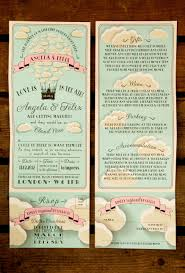 wedding registry lookup gift registry cards in wedding invitations unique cloud themed