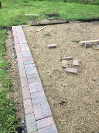 Lowes Paver Patio by The Dabbling Crafter Diy Sunday The No Good Terrible Paver Patio