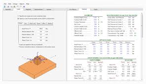 Pedestal Foundation Geoteknikk Engineerings Softwares