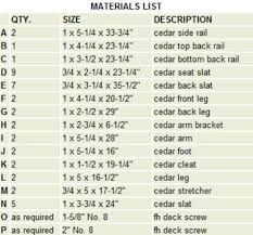 Wood Deck Chair Plans Free by Material List Projects Pinterest Woodworking Pallets And