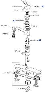 moen 2 handle kitchen faucet repair retrofitvalve dahl equiparts faucet repair parts