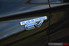 mitsubishi badge 2014 mitsubishi outlander phev aspire review video