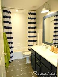 bathroom inspiration gray bedroom nautical shower curtain for