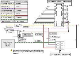 holden bcm wiring diagram holden wiring diagrams instruction
